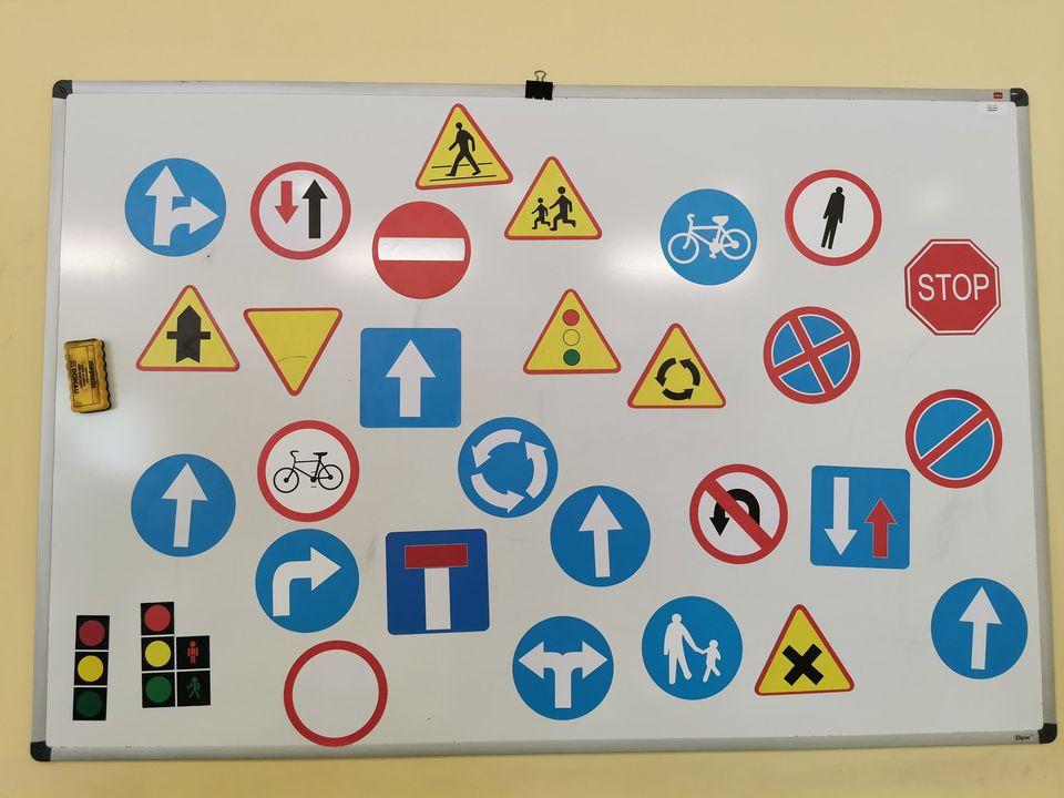 Zdjęcie - znaki drogowe