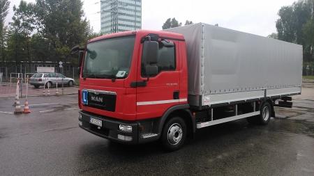 Zdjęcie-Man Truck